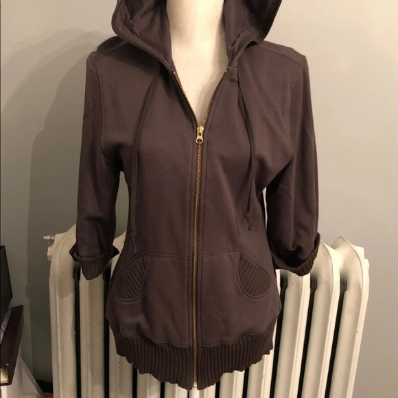 Chris & Mike Tops - Mike & Chris Zip Hooded Tunic Small
